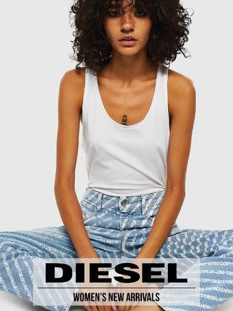 Diesel reclame folder (geldig t/m 05-08)