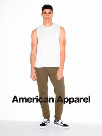 American Apparel reclame folder (geldig t/m 21-07)