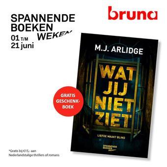 Bruna reclame folder (geldig t/m 21-06)