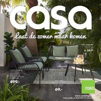 Casa reclame folder (geldig t/m 05-07)