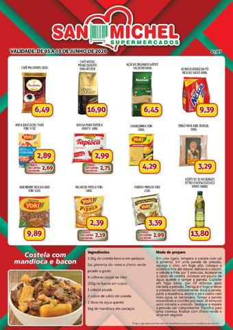 San Michel Supermercados catálogo promocional (válido de 10 até 17 10-06)