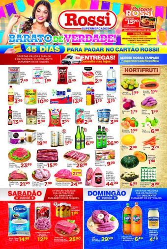 Rossi Supermercado catálogo promocional (válido de 10 até 17 07-06)