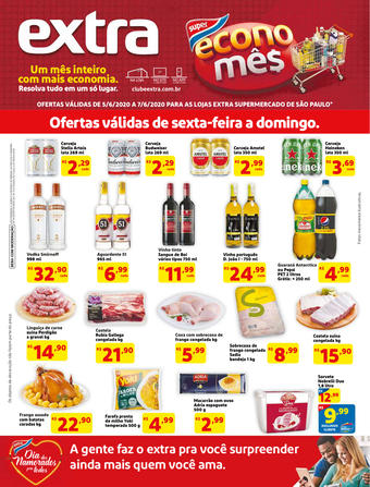 Extra Supermercado catálogo promocional (válido de 10 até 17 07-06)