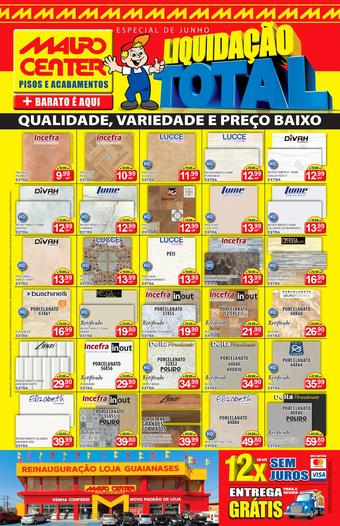 Mauro Center catálogo promocional (válido de 10 até 17 30-06)