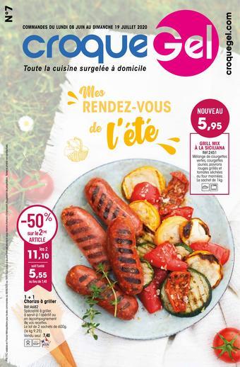 Croque Gel catalogue publicitaire (valable jusqu'au 19-07)