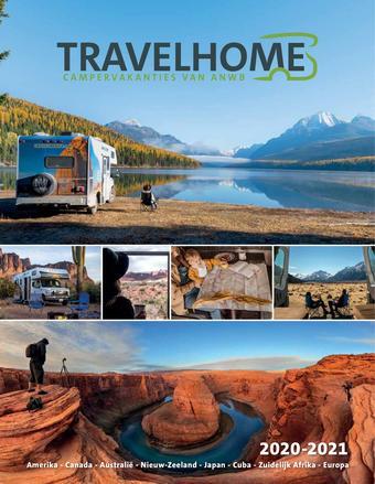 Travelhome reclame folder (geldig t/m 31-03)