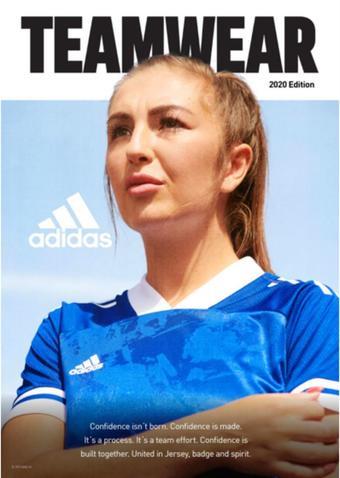 Adidas reclame folder (geldig t/m 31-12)