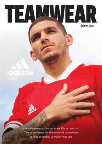 Adidas catalogue publicitaire (valable jusqu'au 31-12)