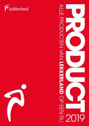 Lekkerland reclame folder (geldig t/m 31-03)