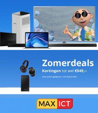 Max ICT reclame folder (geldig t/m 12-07)