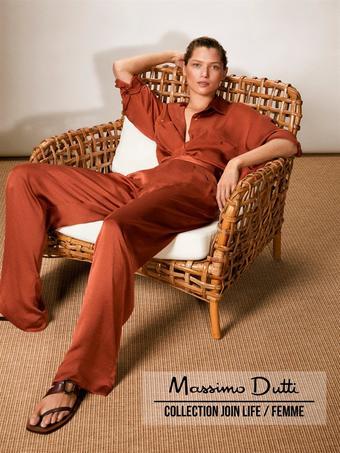 Massimo Dutti catalogue publicitaire (valable jusqu'au 03-08)