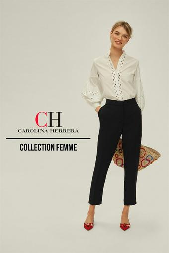 Carolina Herrera catalogue publicitaire (valable jusqu'au 11-08)