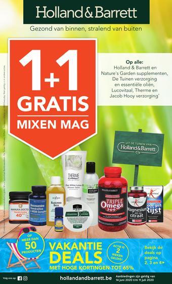 Holland & Barrett reclame folder (geldig t/m 11-07)