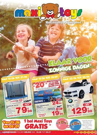 Maxi Toys reclame folder (geldig t/m 05-07)