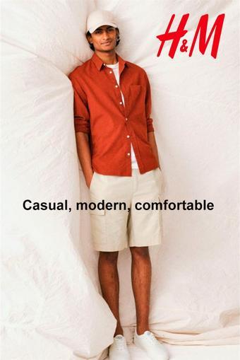 H&M reclame folder (geldig t/m 13-07)