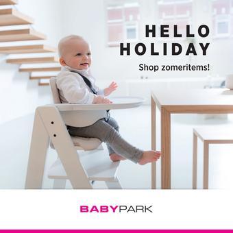Babypark reclame folder (geldig t/m 20-07)