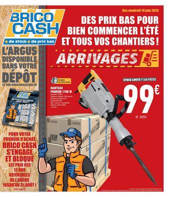 Brico Cash catalogue publicitaire (valable jusqu'au 04-07)