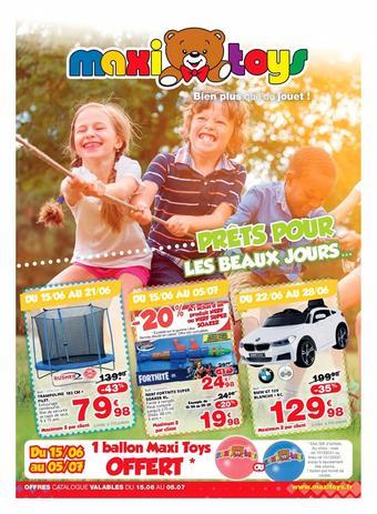 Maxi Toys catalogue publicitaire (valable jusqu'au 05-07)