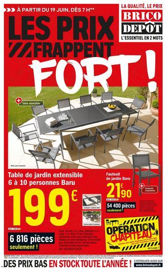 Brico Dépôt catalogue publicitaire (valable jusqu'au 09-07)