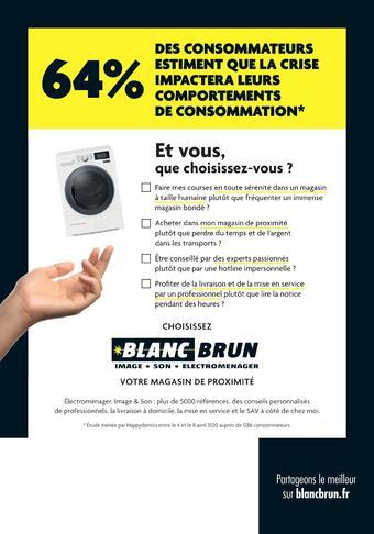 Blanc Brun catalogue publicitaire (valable jusqu'au 08-08)