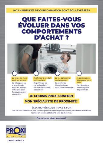 Proxi Confort catalogue publicitaire (valable jusqu'au 08-08)