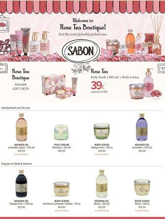 Sabon reclame folder (geldig t/m 31-07)