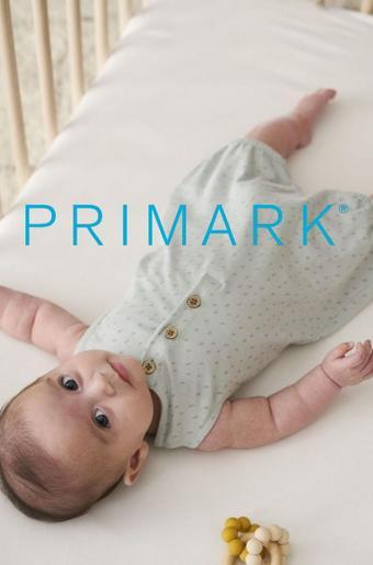 Primark reclame folder (geldig t/m 31-07)