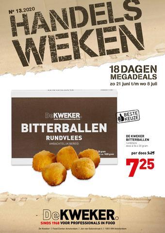 De Kweker reclame folder (geldig t/m 08-07)