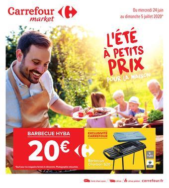 Carrefour Market catalogue publicitaire (valable jusqu'au 05-07)