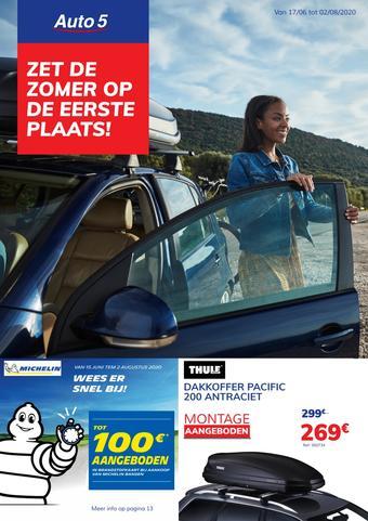 Auto5 reclame folder (geldig t/m 02-08)