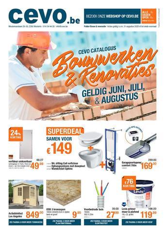 Cevo reclame folder (geldig t/m 31-08)