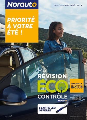 Norauto catalogue publicitaire (valable jusqu'au 25-08)