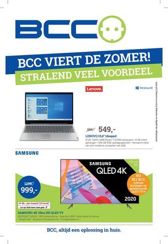 BCC reclame folder (geldig t/m 12-07)