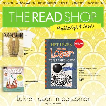 The Read Shop reclame folder (geldig t/m 22-07)