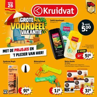 Kruidvat reclame folder (geldig t/m 05-07)