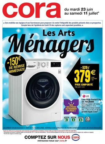 Cora catalogue publicitaire (valable jusqu'au 11-07)