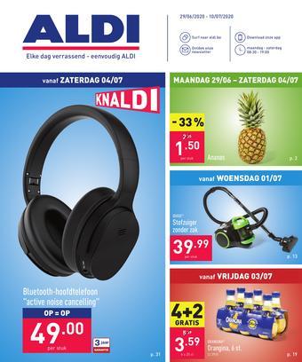 ALDI reclame folder (geldig t/m 10-07)