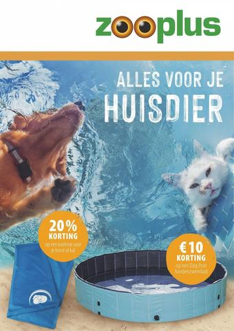 Zooplus reclame folder (geldig t/m 31-08)