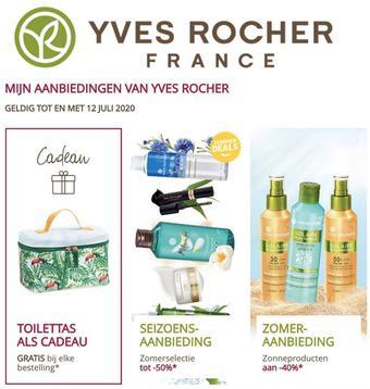 Yves Rocher reclame folder (geldig t/m 12-07)