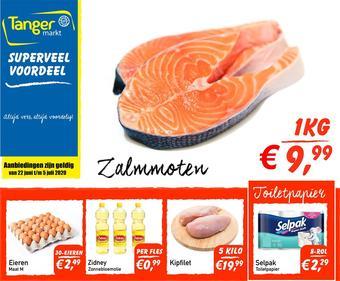 Tanger Markt reclame folder (geldig t/m 05-07)