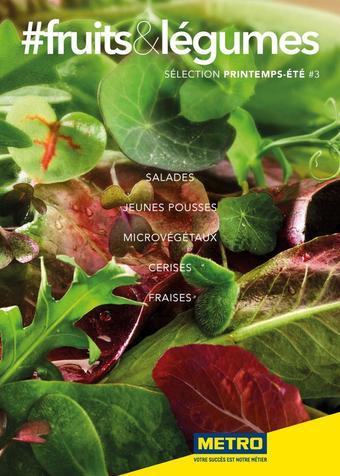METRO catalogue publicitaire (valable jusqu'au 31-07)