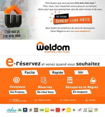 Weldom catalogue publicitaire (valable jusqu'au 18-08)