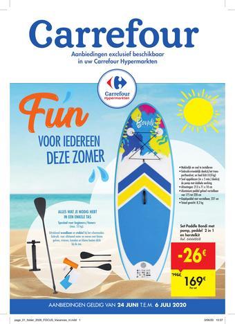 Carrefour Market reclame folder (geldig t/m 06-07)