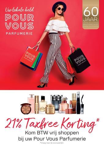 Pour Vous reclame folder (geldig t/m 17-07)