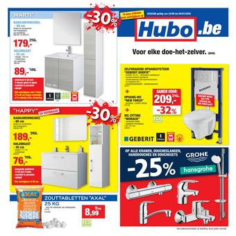 Hubo reclame folder (geldig t/m 05-07)