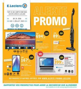E.Leclerc catalogue publicitaire (valable jusqu'au 04-07)
