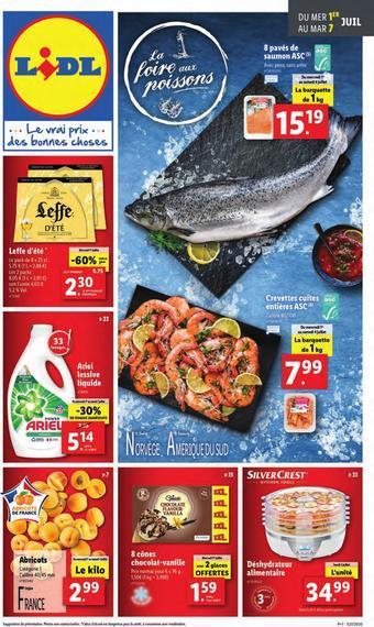 Lidl catalogue publicitaire (valable jusqu'au 07-07)