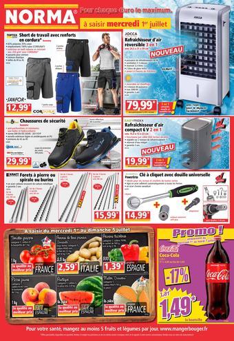 Norma catalogue publicitaire (valable jusqu'au 07-07)