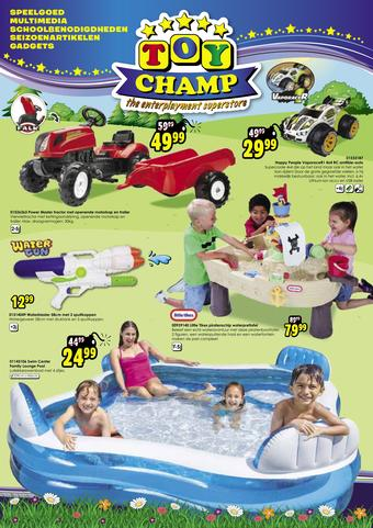 ToyChamp reclame folder (geldig t/m 26-07)