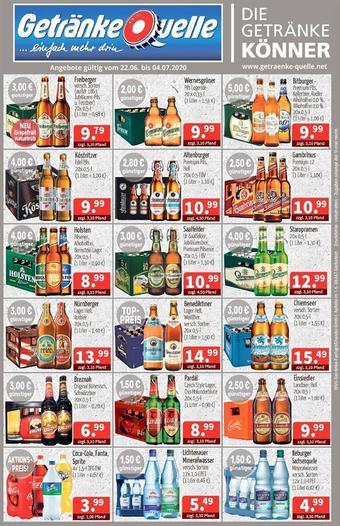 Getränke Quelle Prospekt (bis einschl. 04-07)